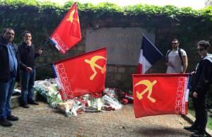 Commune de Paris : le PRCF présent au mur des Fédérés.