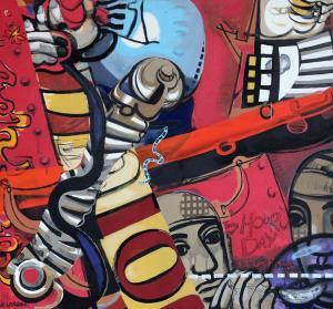 KENNETH LARSON, peintre et révolutionnaire  – Rétrospective 20 au 31 octobre [Grenay – 62]
