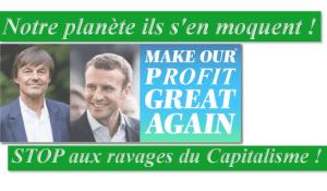 Viol de la langue française et mépris pour la planète : le One Planet Summit ou la farce Macron à Paris