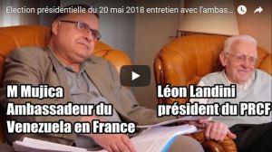 #vidéo Entretien avec l'ambassadeur du Venezuela en France