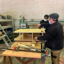 Production dans nos ateliers