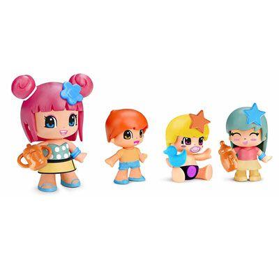 Bambola Pinypon Con 3 Babies Famosa 700014101 8410779049018
