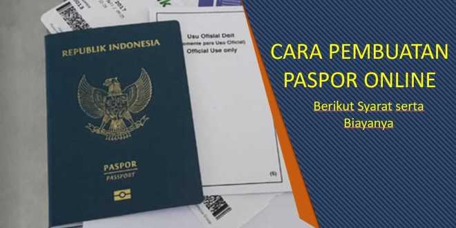 cara pembuatan paspor online
