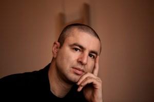 Autor Nikola Madzirov aus Madzedonien, Berlin, Hotel Bleibtreu, 24.6.2011