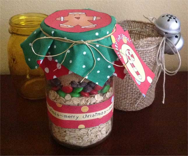 Christmas Wishes Mason Jar Labels Printable Labels For Jars