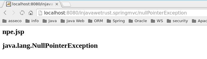 Spring MVC – 15 – Exception Handling – 01 | SimpleMappingExceptionResolver – in java we trust