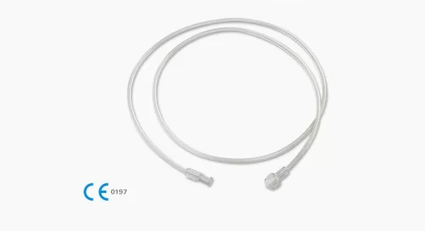 High Pressure Medical Grade Silicone Tubing Extension Line