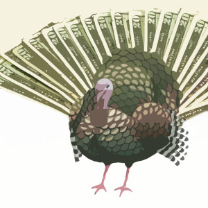 Turkey is expensive this year...