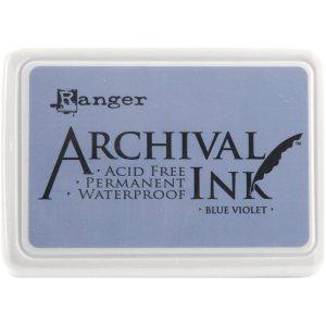 Archival Ink Pad No.0 – Blue Violet