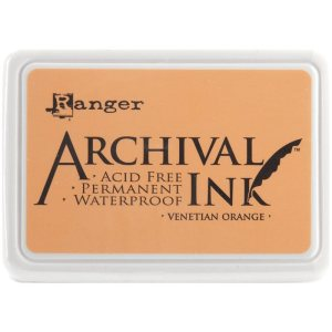 Archival Ink Pad No.0 – Venetian Orange