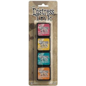 Distress Mini Ink Kits – Kit 1