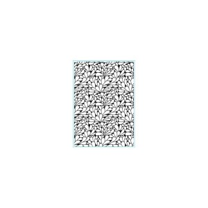 Elizabeth Craft Embossing Folder 4″X6″ – Swirly Curves