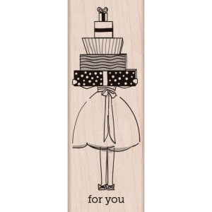 Hero Arts Mounted Rubber Stamps 1.5″X3.75″ – For You Gifts