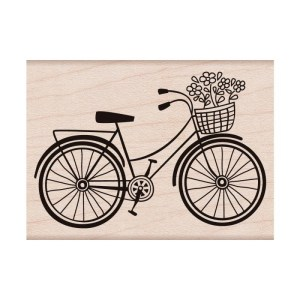 Hero Arts Mounted Rubber Stamps 2″X2.75″ – Bicycle