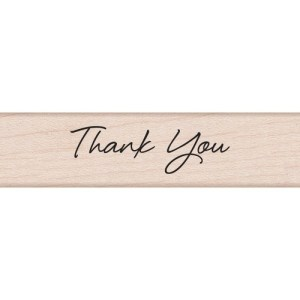 Hero Arts Mounted Rubber Stamps .5″X3″ – Little Greetings Thank You