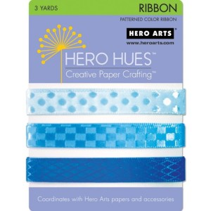 Hero Hues Ribbon 1yd 3/Pkg – Sea