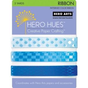 Hero Hues Ribbon 1yd 3/Pkg – Sea
