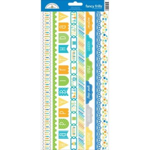 Hip Hip Hooray Cardstock Stickers 6″X13″ – Fancy Frills