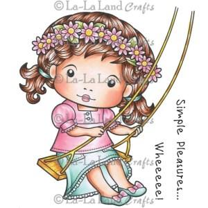 La-La Land Cling Mount Rubber Stamps – Marci on a Swing