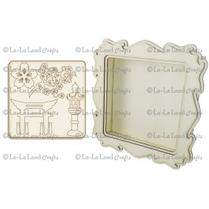 La-La Land Shadow Box Kit – Tea Garden