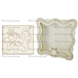 La-La Land Shadow Box Kit – Nautical Theme