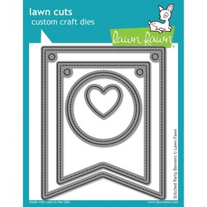 Lawn Cuts Custom Craft Die – Stitched Party Banners