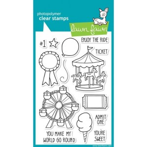 Lawn Fawn Clear Stamps 4″X6″ – Admit 1