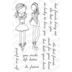 My Favorite Things Wendy Burns Designs Stamps 4″X6″ Sheet – Stylish Firends