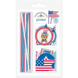 Patriotic Parade Pixies & Flags Assortment Pack