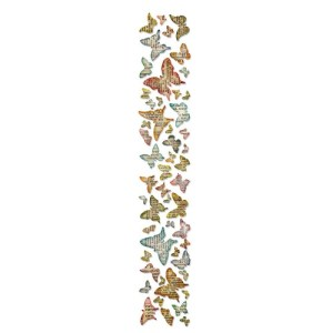 Sizzix Sizzlits Decorative Strip Die By Tim Holtz – Butterfly Frenzy