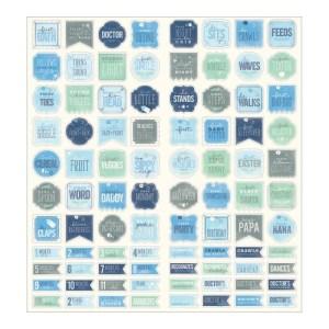 Special Delivery Boy Cardstock Stickers 6″X12″ 2/Sheets – Milestones