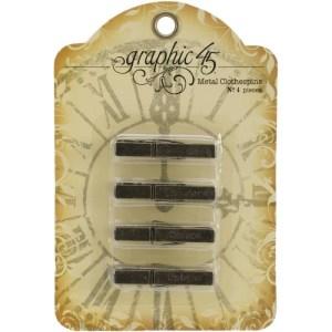 Staples Metal Clothespins 1.75″X.375″X.25″ 4/Pkg