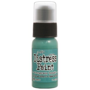 Tim Holtz Distress Paint 1oz Bottle – Evergreen Bough