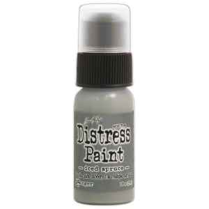 Tim Holtz Distress Paint 1oz Bottle – Iced Spruce