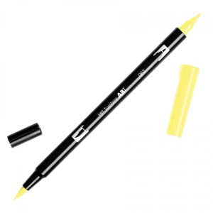 Tombow Dual Brush Marker – 062 Pale Yellow