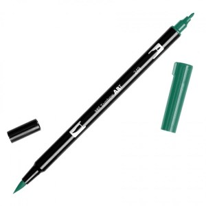 Tombow Dual Brush Marker – 249 Hunter Green