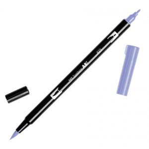 Tombow Dual Brush Marker – 623 Purple Sage