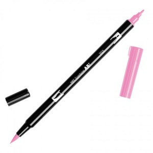 Tombow Dual Brush Marker – 703 Pink Rose