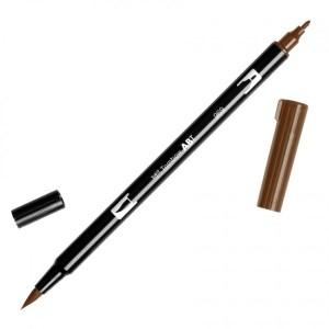 Tombow Dual Brush Marker – 969 Chocolate