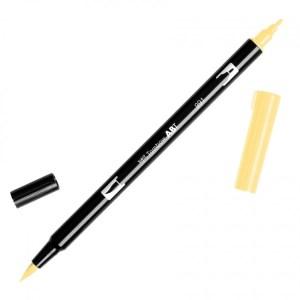 Tombow Dual Brush Marker – 991 Light Ochre
