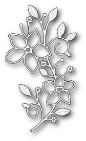 Memory Box Die – Vignette Floral Branch