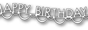 Memory Box Die – Happy Birthday Garland
