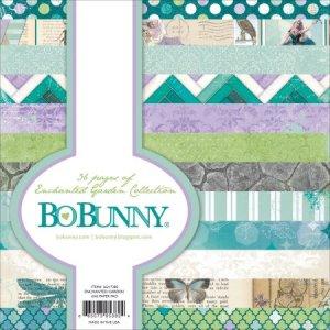 BoBunny – 6 x 6 Paper Pad – Enchanted Garden