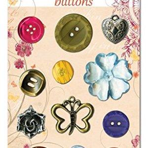 Bo Bunny Ambrosia Buttons