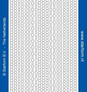 Starform Glitter Stickers 7010 – Gold/Silver