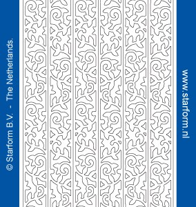 Starform Glitter Stickers 7045 – Blue/Gold