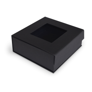 Graphic 45 Mixed Media 5×5 Box-Black