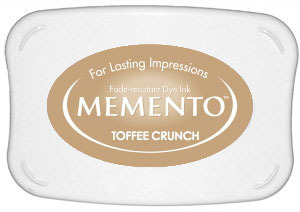 Memento Dye Ink Pad – Toffee Crunch