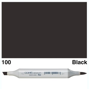 Copic Marker Sketch 100 Black