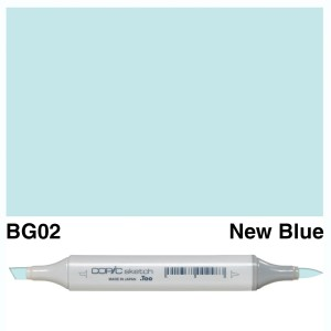 Copic Sketch BG02-New Blue
